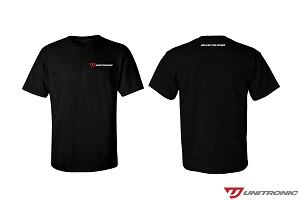Classic Black T-Shirt Full Logo