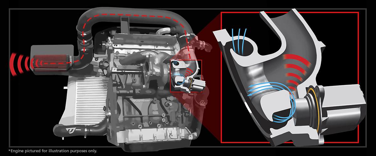 2 0 Tsi Gen1 Cold Air Intake For Mk6 Gti 8p A3 Tiguan