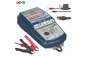 OptiMate 7 SELECT, 9-step 12V 10A sealed battery saving charger & maintainer
