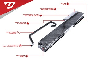 Carbon Fiber Air Duct For 1.8/2.0 TSI Gen3 MQB