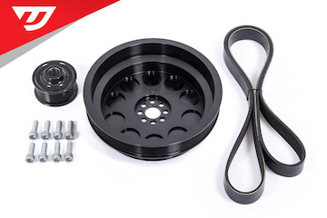 Dual Pulley Upgrade Kit For 3.0TFSI