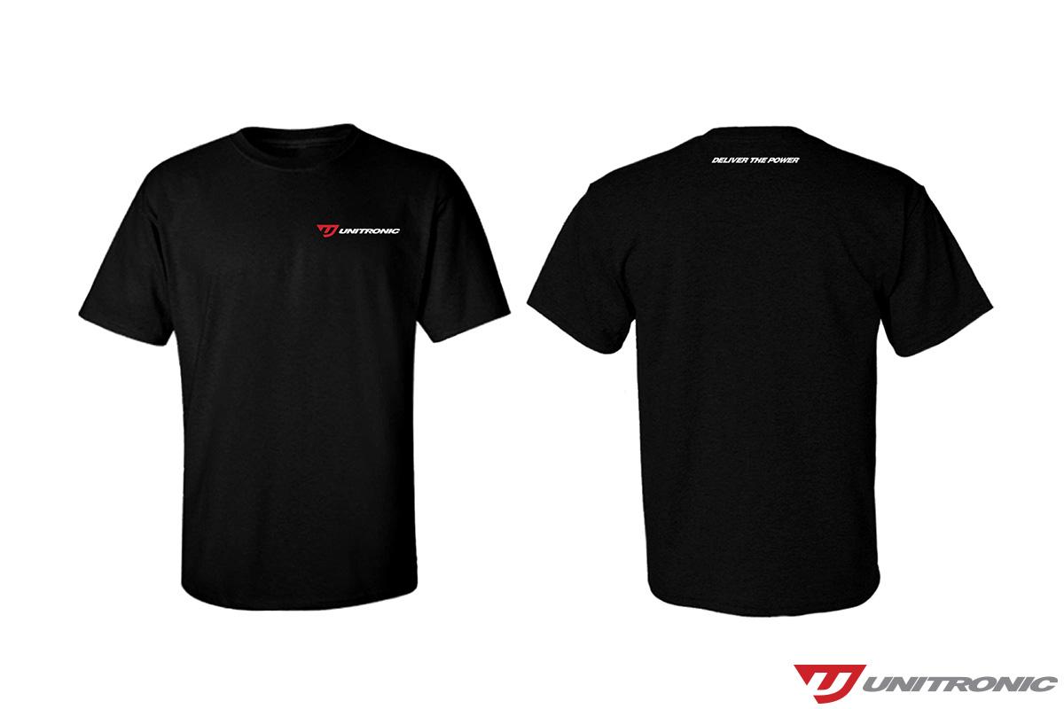 Classic Black T-Shirt Full Logo Large