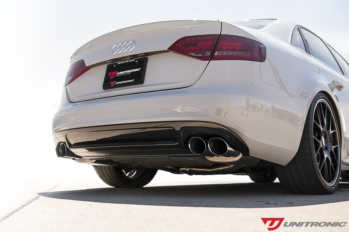 Cat-Back Exhaust System for B8/B8 5 S4 by Unitronic