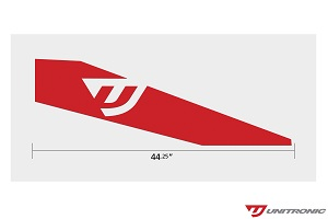 Unitronic Red Livery (pair)