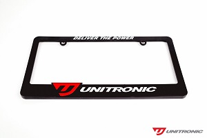 Unitronic License Plate Frame
