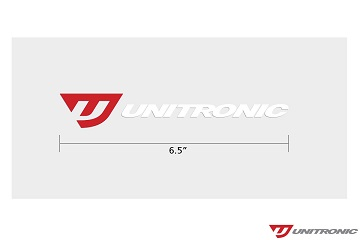 "Unitronic 6.5"" Decal"