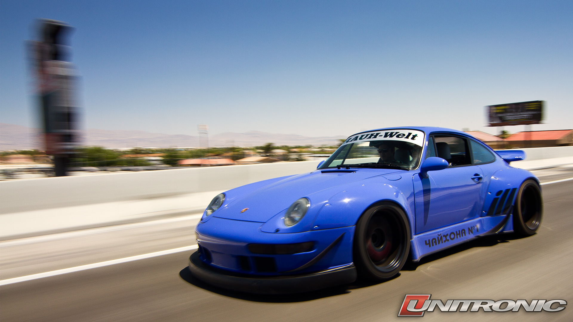 RWB Porsche at Wuste - Wallpaper