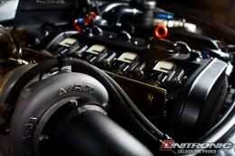 Big Turbo Audi A4 Wallpaper - by Unitronic