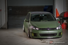 MK6 GTI Wrapped and Slammed