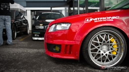 Tuned Audi RS4 by Unitronic Desktop Wallpaper