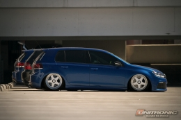 Slammed Golf R Wallpaper - by Unitronic