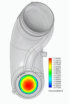2.5 TFSI Flow Simulation