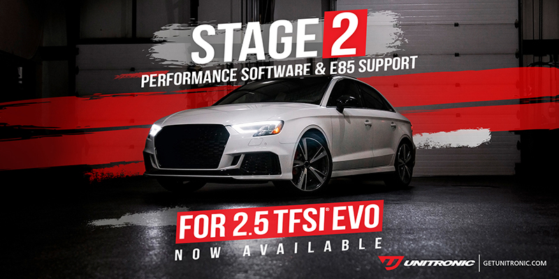 Unitronic Stage 1+ E85 & Stage 2 Performance Software - NOW AVAILABLE**