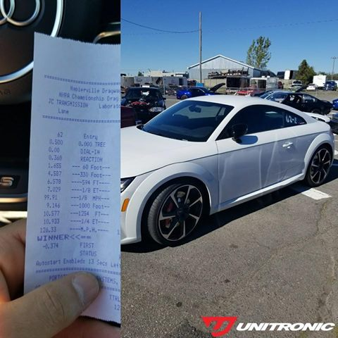 Unitronic TTRS 10 second pass