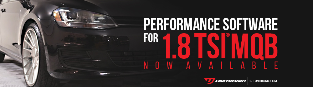 Unitronic Performance Software for 1.8 TSI Gen3 MQB