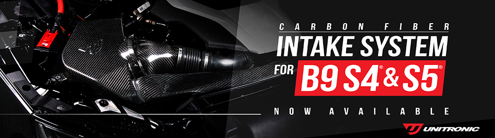 Unitronic Carbon Fiber Intake System for B9 S4 and S5 3.0 TFSI - Now Available