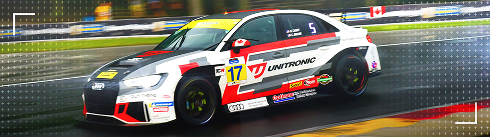 Unitronic Audi TCR Battles Mother Nature at Road America