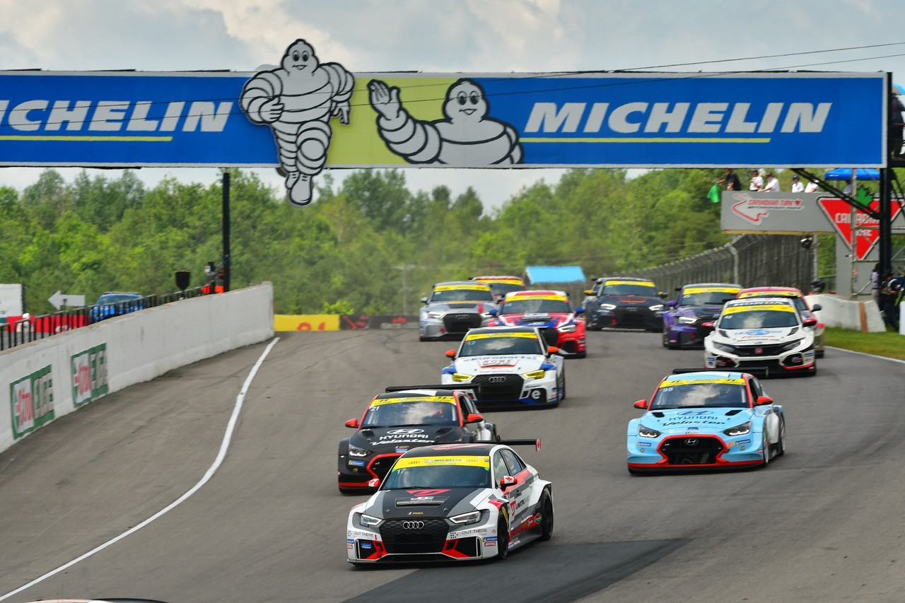 Unitronic No. 17 Audi RS 3 LMS at CTMP