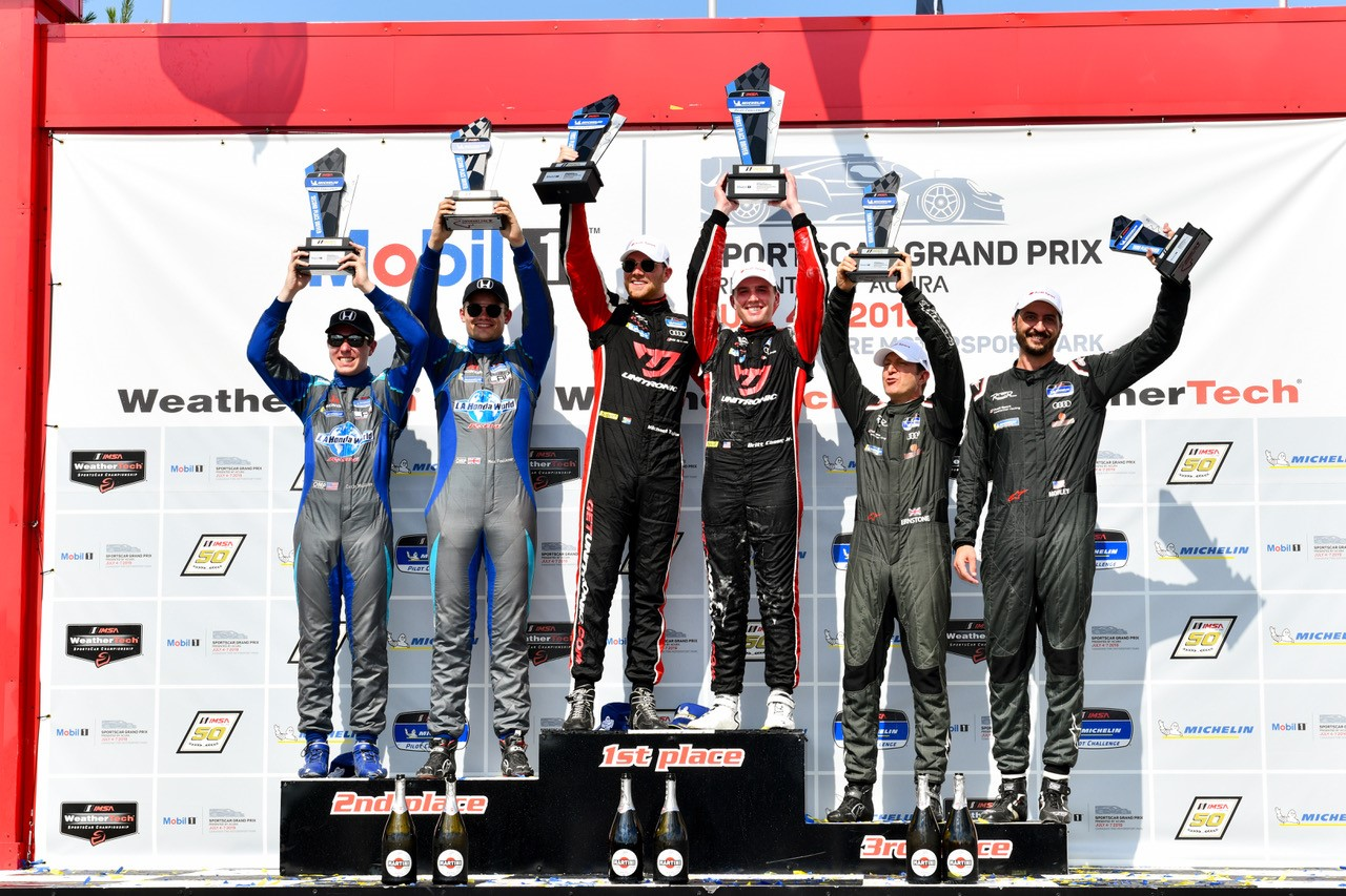 No. 17 Unitronic RS3 LMS Podium at CTMP