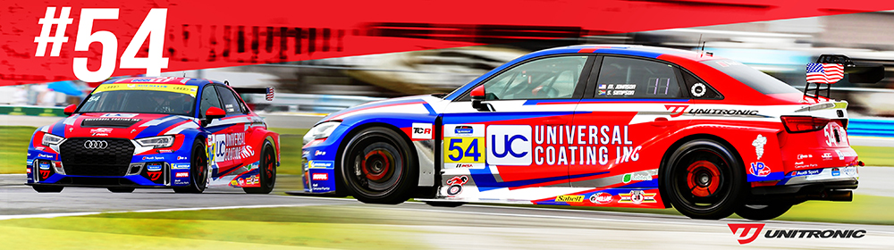 Unitronic Extends Parternship with JDC-Miller Motorsports and Michael Johnson Racing's Audi RS 3 LMS TCR