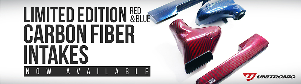 Red and Blue Limited Edition Carbon Fiber Intake Systems for 1.8/2.0 TSI GEN3 MQB - Now Available!