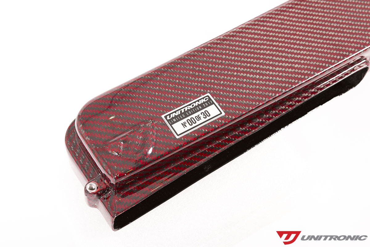 Red Carbon Fiber Intake by Unitronic