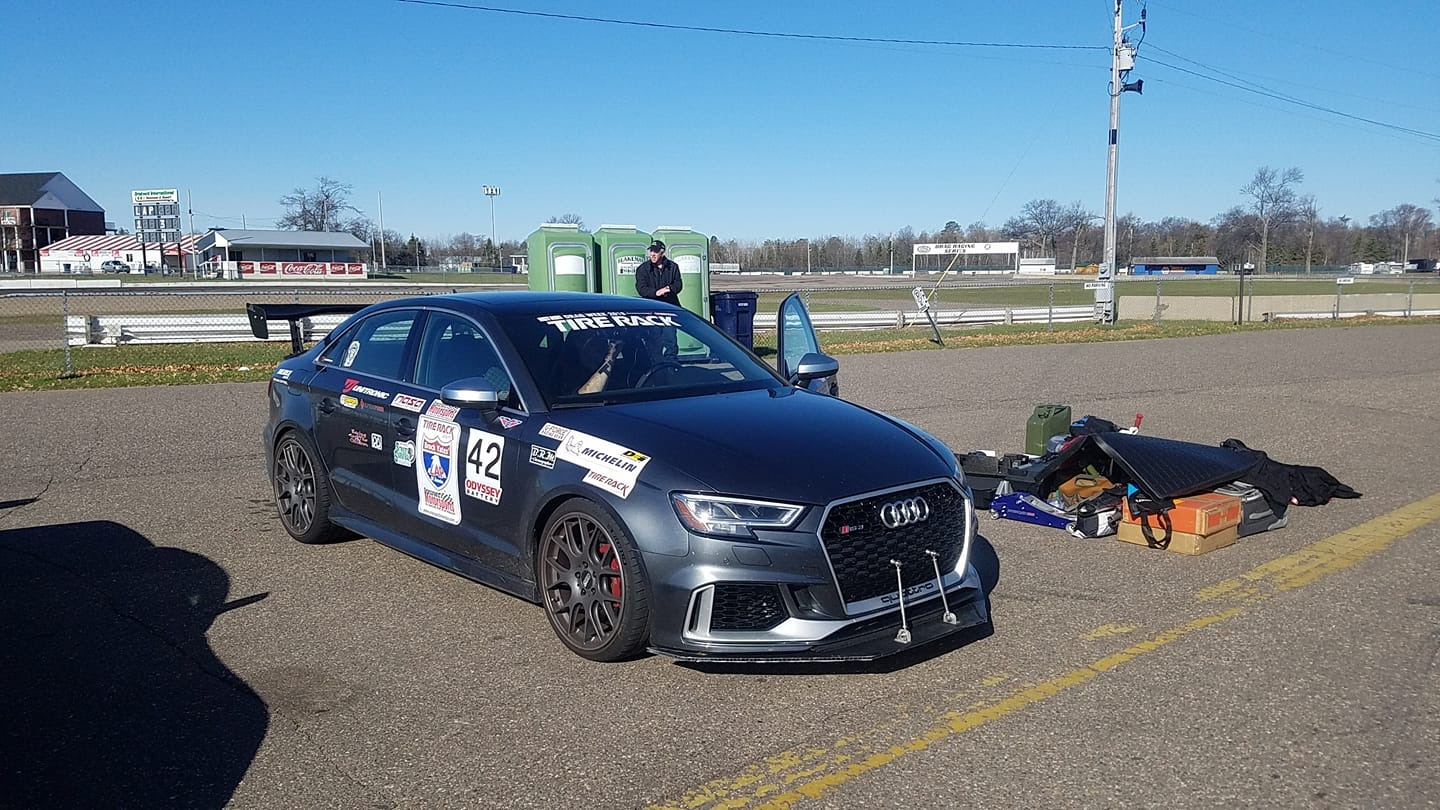 Unitronic tuned RS 3 at One Lap Of America 2019