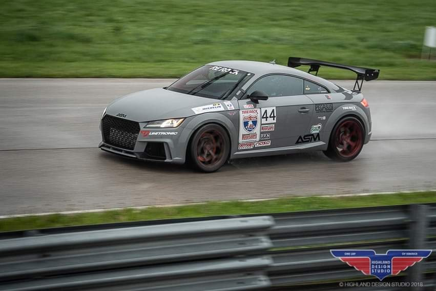 TT RS at One Lap Of America 2019