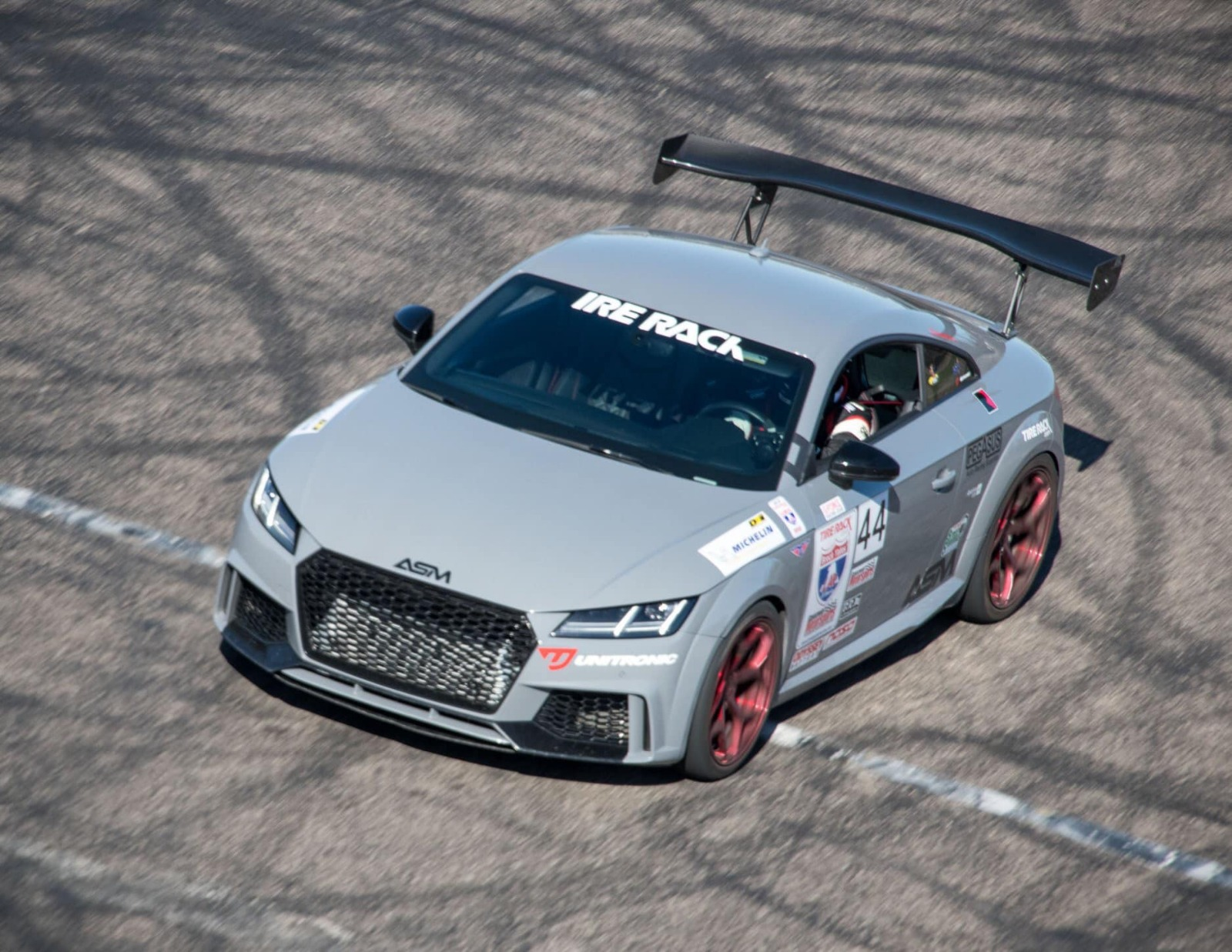 Unitronic tuned TT RS at One Lap Of America 2019