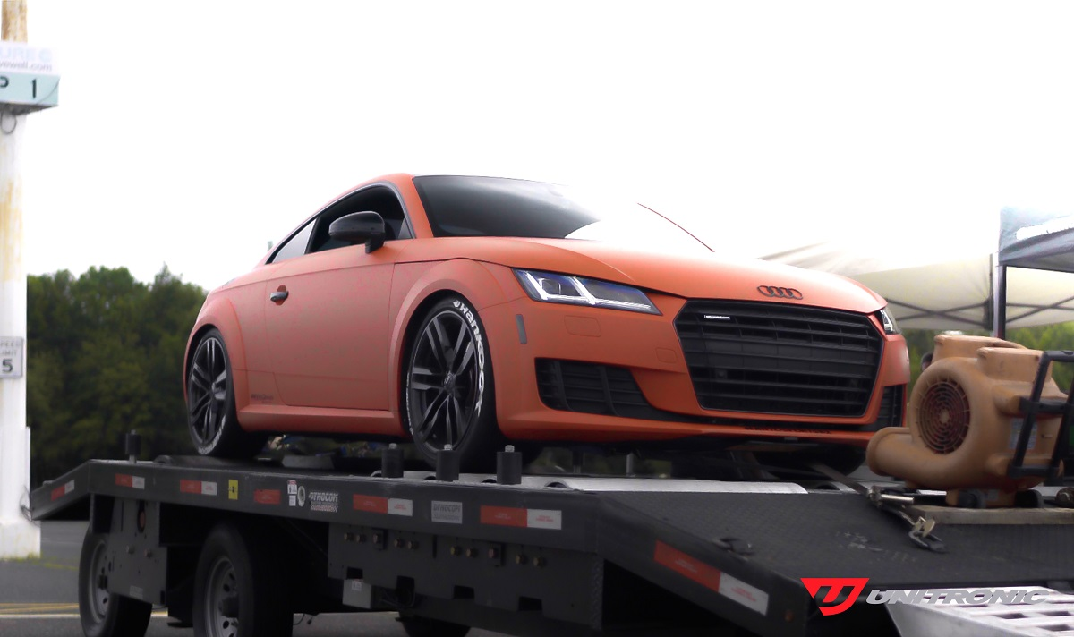 MK3 Audi TT on the dyno by Unitronic