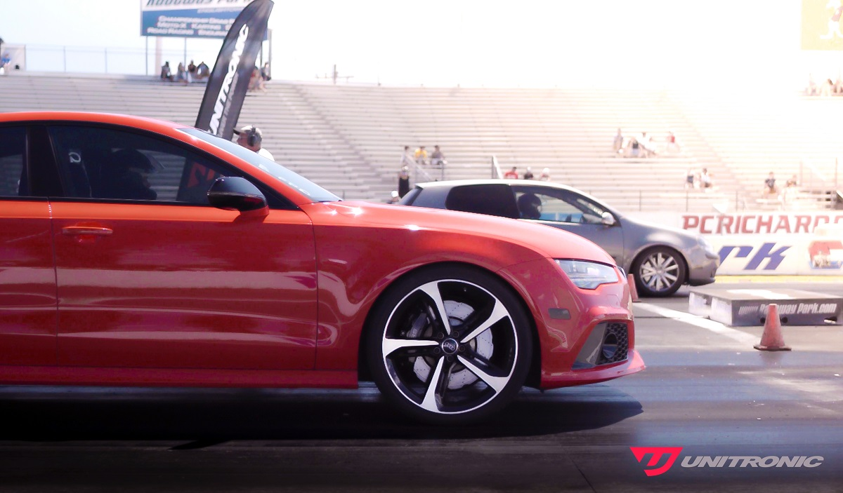 Audi RS7 at the drag by Unitronic