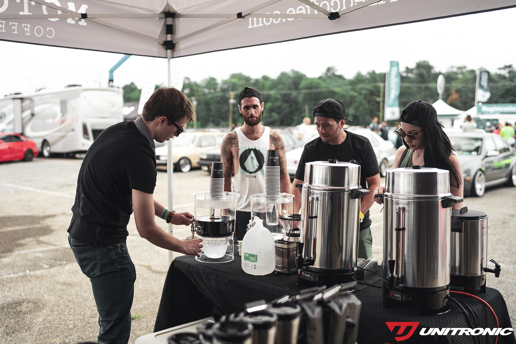Motorized Coffee and Unitronic