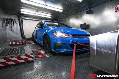 Unitronic Development Car on Maha Dyno